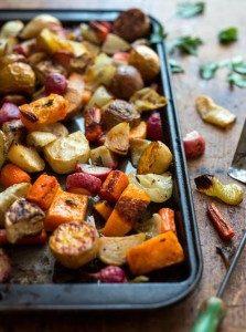 Easy Roasted Winter Vegetables - Santa Cruz Core