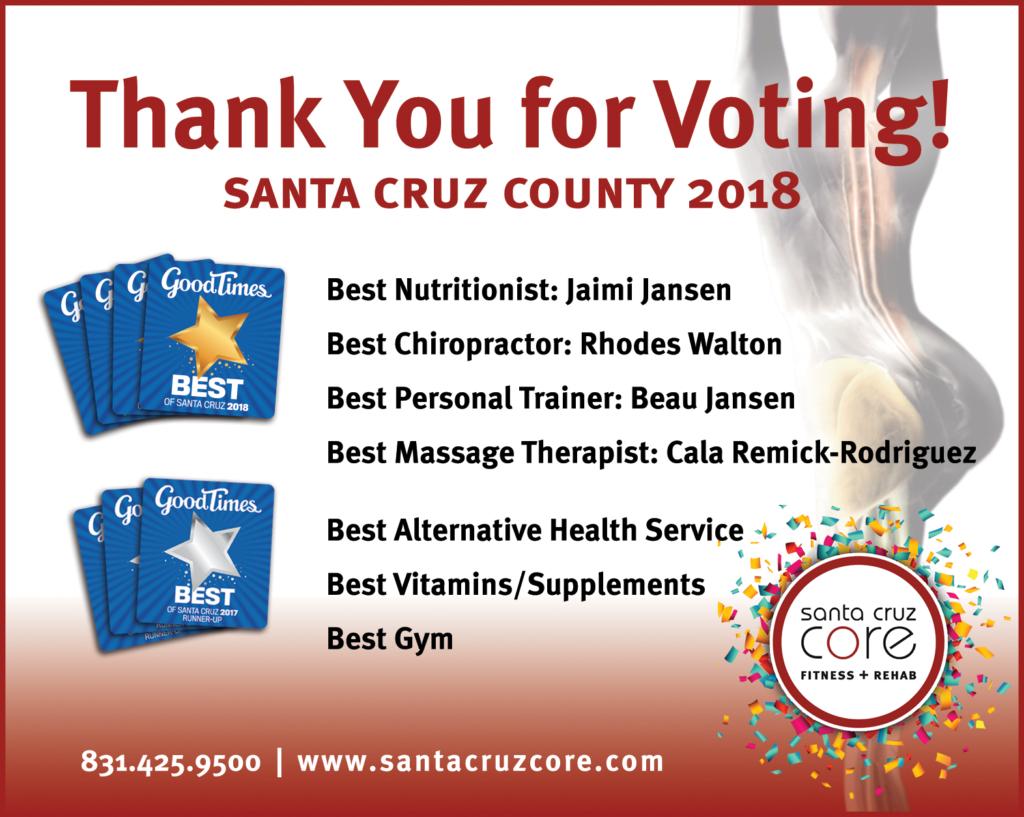 good times award winners santa cruz core 2018