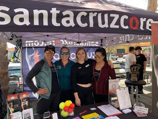 Santa Cruz CORE supporting Girls Rock at Patagonia