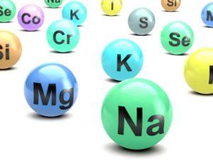 periodic table electrolytes