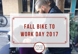 Fall Bike to Work Day 2017
