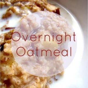 Overnight Oatmeal - Santa Cruz Core